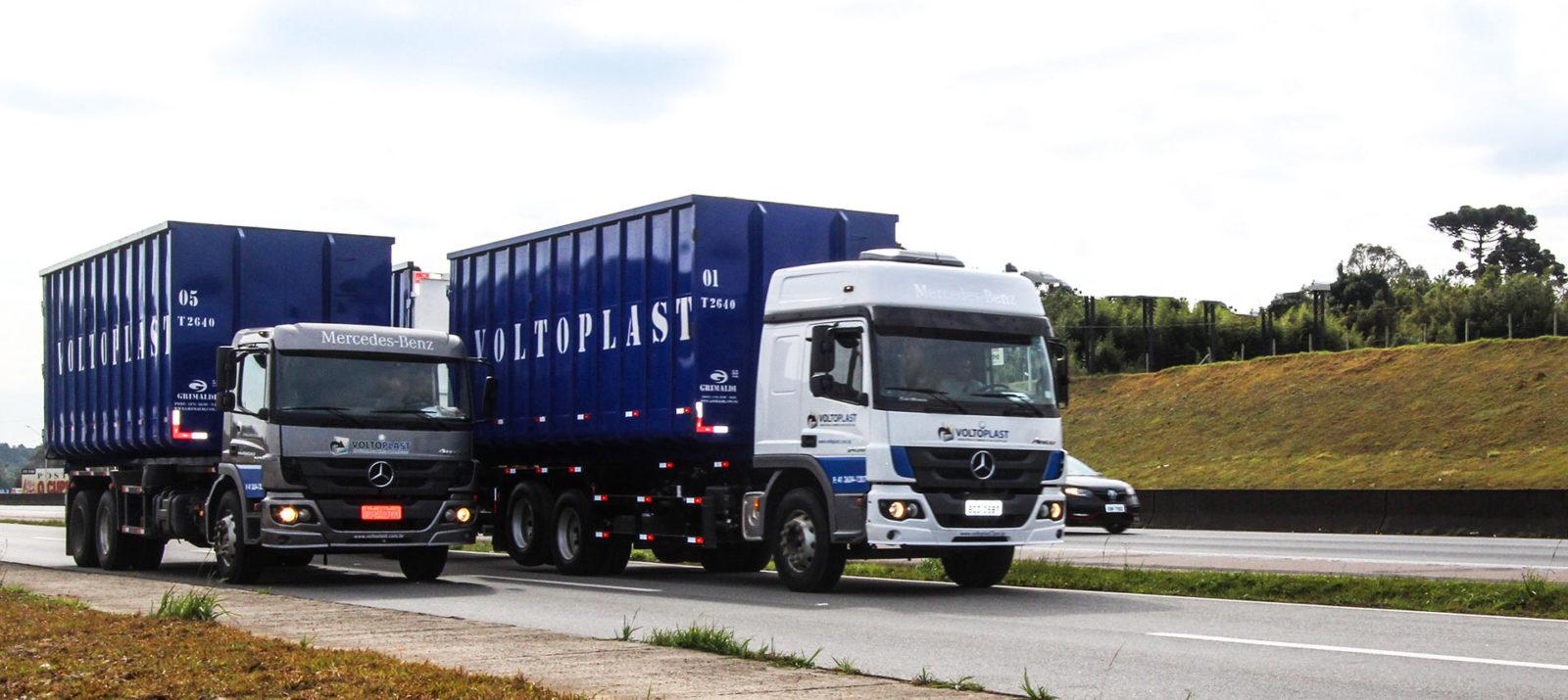 Voltoplast Reciclagem - LOGÍSTICA